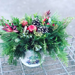 Balsam Wreath Centerpiece