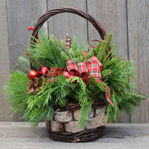 Holiday Bouquet from Balsamwreath