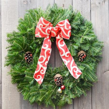 Jingle Bell - Balsam Wreath
