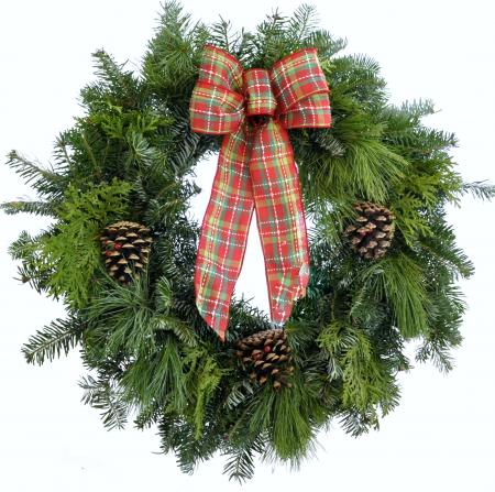 Northwoods - Mixed Green Wreath