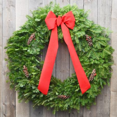 Traditional  - 36 inch Balsam Wreath