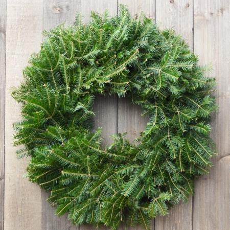 Balsam Wreath 24 inch - (undecorated)