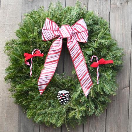 Candy Cane - Balsam Wreath